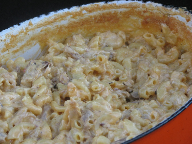 Mac & Cheese on the Big Green Egg?  Why Not!!