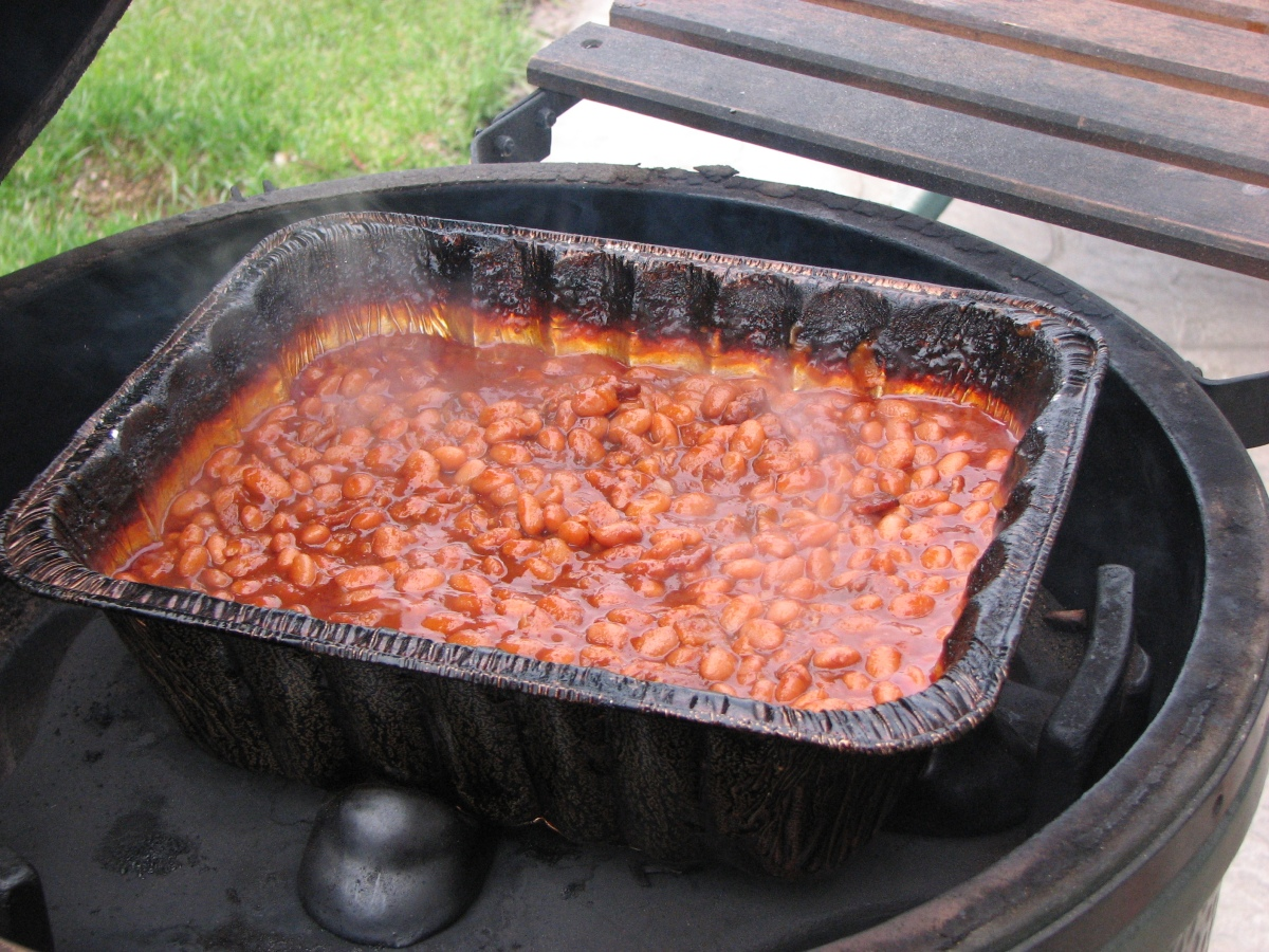 Hickory Smoked Maple Beans