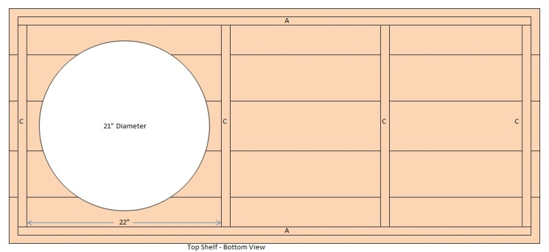 big green egg table plans extra large