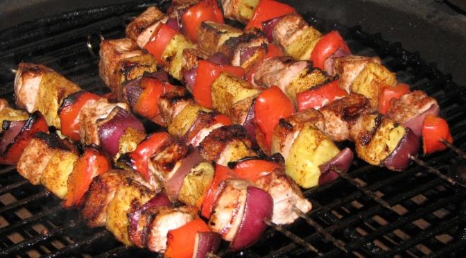 Dizzy Pig Jamaican Firewalk Pork Skewers