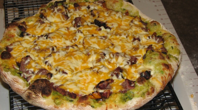 Steak Fajita Pizza Version 2