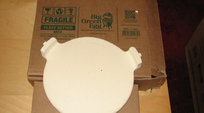 Big Green Egg Plate Setter Review