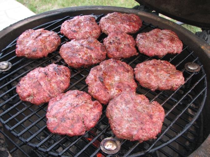 Manitoba Bison Burgers