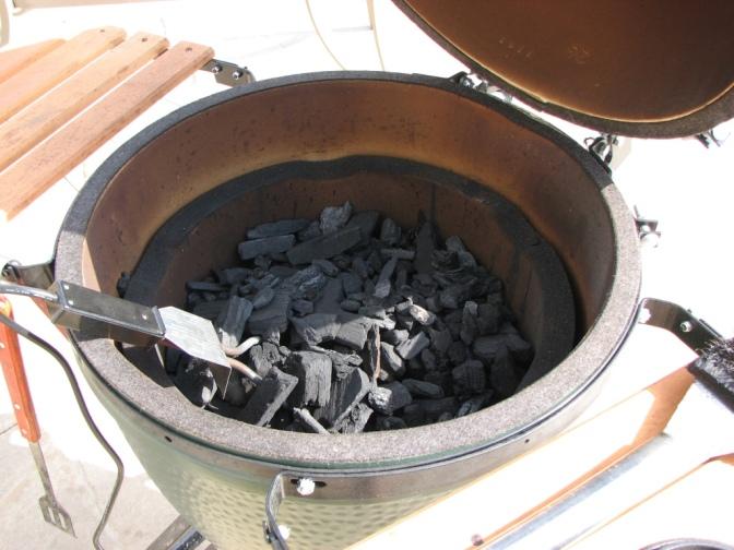 How To… Light the Big Green Egg